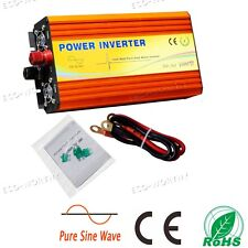 1KW 12V-220V Pure Sine Inverter With 5V USB Interface for RV Car Boat System