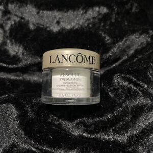 NEW Lancôme Absolute Premium BX SPF 15 Day Cream-0.5fl Oz/15g Sample