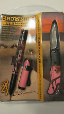 Browning Light, Pen and knife Pink Mobu Set