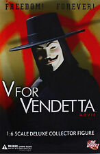 "DC Direct FACTORY NEW! V For VENDETTA 1/6 SCALE 13"" DELUXE COLLECTOR FIGURE TOY"