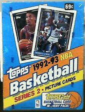 1992-93 Topps Basketball Factory Sealed Series 2 Box Shaq Rookie or Gold??