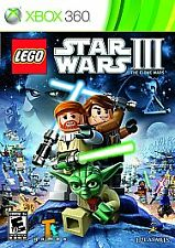 LEGO Star Wars III: The Clone Wars (Microsoft Xbox 360, 2011)