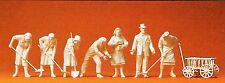 femmes de gravats 7 figurines non-peintes accessoire Preiser 16568 SPUR HO (16,5