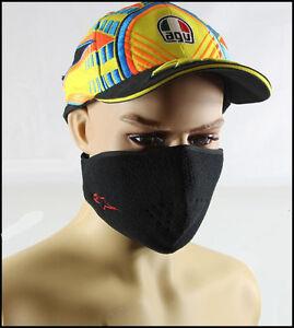 New Biker Skateboard Ski Motor Bike Fleece Warm Mask BLack Half Face Cosplay
