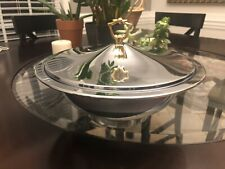 Stainless Steel Serving Bowl With Lid