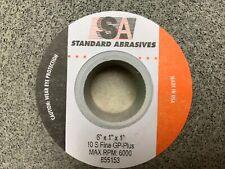 """STANDARD ABRASIVES #530144  5/""""x7//8/"""" 60grit SANDING DISCS  25 Pieces"""