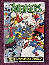 Avengers #70 9.0 Never Pressed Attic Find