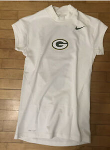 Nike Green Bay Packers Dri-Fit Team Issued Player Worn Used Shirt LARGE
