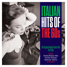 Italian Hits Of The 60s - 40 Original Italian Chart Hits 2CD NEW/SEALED