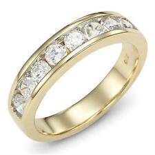 Eternity White Gold Sapphire Fine Rings