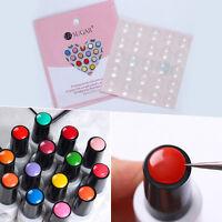 25Pcs Silicone Adhesive Paster Transparent Color Button Sticker Display UR SUGAR