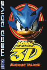 ## SEGA Mega Drive - Sonic The Hedgehog 3D: Flickie's Island / MD Spiel ##