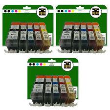 15 Ink Cartridges for Canon Pixma iP4850 iP4950 iX6250 iX6550 non-OEM 525-526