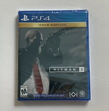 Hitman 2 : Gold Edition PlayStation 4 - BRAND NEW & SEALED