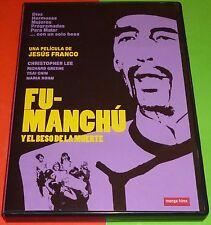 FU MANCHU Y EL BESO DE LA MUERTE / Jesus Franco / Nueva