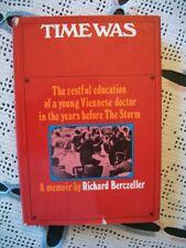 Time Was (Richard Berczeller, 1971 Hcdj)