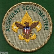 BOY SCOUT ADULT POSITION PATCH - ASSISTANT SCOUTMASTER