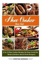 Slow Cooker Box Set: (3 in 1) Slow Cooker Recipes for Easy Crock Pot Meals...