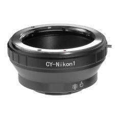 Contax Yashica Lens to Nikon 1 Mount Adapter Ring f S1 S2 AW1 V1 V2 J5 J4 J3 J2