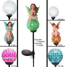 Solar Wholesale Solar Garden Led Light Crackle Glassball Globe Yard Stake Series