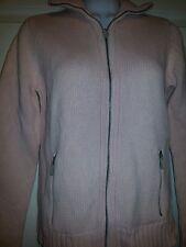 Women's Small Pink RALPH LAUREN Zip-Up Sweater Jacket