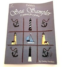 Debby's Sea Sampler Debby Forshey Nautical Lighthouses 15 Patterns for Fabric