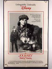 JOURNEY NATTY GANN (Fine+) Movie Poster One Sheet Walt Disney John Cusack 2669