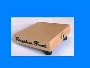 Rhythm Foot instrument stompbox stomp box NEW