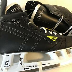 Graf Classic G755 Pro Ice Skates SR 9.0 R (SUPER SAVER)