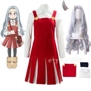 My Hero Academia Boku no Hero Eri Cosplay Anime Halloween Costume Dress Pajamas