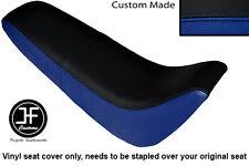 Noir et Bleu Royal Vinyle Personnalisé Pour Kinroad XT 50 GY Double Housse De Siège uniquement