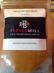 Algerian Merguez Sausage Spice Blend - 50 grams- GLUTEN FREE