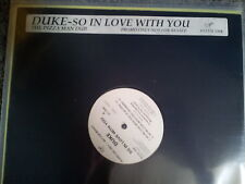"DUKE-so in love with you 12"" UK promo Pizzaman Dub"