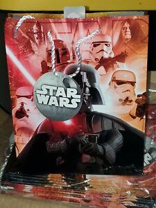Star Wars Disney Kylo Ren Hallmark Great Nice Gift Bags Lot of 4 Medium New