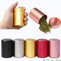herb planque jar mini - les boîtes métalliques boîte à thé conteneur scellé