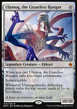 MTG ULAMOG, THE INCESSANTE HUNGER EXC - ULAMOG, FAIM INCESSANTE - BFZ - MAGIC