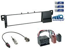 Radioeinbauset BMW 3er (E46) inkl. Adapterkabel & Antennenadapter ( runde Pins )