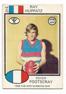 1975 Scanlens (118) Ray HUPPATZ Footscray /: