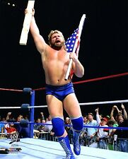 "WWE PHOTO HACKSAW JIM DUGGAN WRESTLING 8x10"" PROMO wwf wcw"