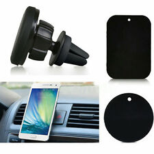 Magnetic Car portable Air Vent Holder Stand Mount Kit For smart Cell Phone GPS