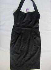Para mujeres Vestido Negro Nuevo Colección Amy niño, tamaño 12