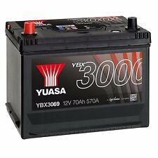 Yuasa YBX3069 12V Car Battery 70Ah 570A 069 Type Sealed Maintenance Free