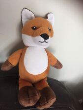kinder FOX orange brown cuddly Soft Toy renard vos fuchs volpe plush peluche c5