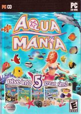 Aqua Mania (5 Fish Simulation SIM PC Games) GREAT DEAL!
