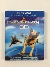 Combo Blu Ray 3D + 2D Comme chiens et chats - La Revanche de Kitty Galore