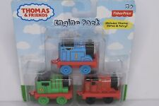 Fisher Price Thomas & Friends Engine Pack Includes Thomas James & Percy New