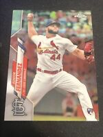 2020 Topps Chrome #162 JUNIOR FERNANDEZ St Louis Cardinals LOGO ROOKIE CARD RC