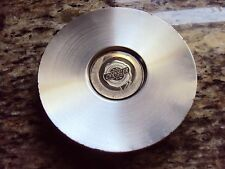 Chrysler Town and Country  Wheel Center Cap.Part# 04862224AB. Genuine OEM Silver