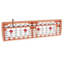 NUOVA plastica Abacus 13 Cifre Bianco Perline PALLOTTOLIERE MATEMATICA Learning Aiuto