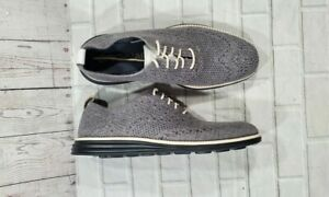 Cole Haan Original Grand Stitchlite Gray Wool Oxford MENS SIZE 7.5